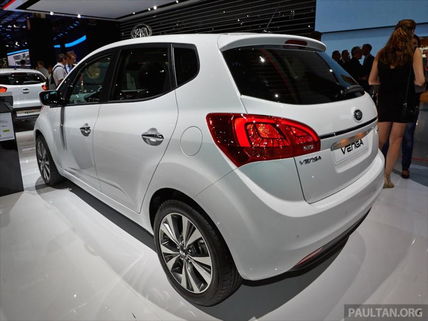 Kia Venga – B-segment MPV gets facelift, Paris debut Image #278037