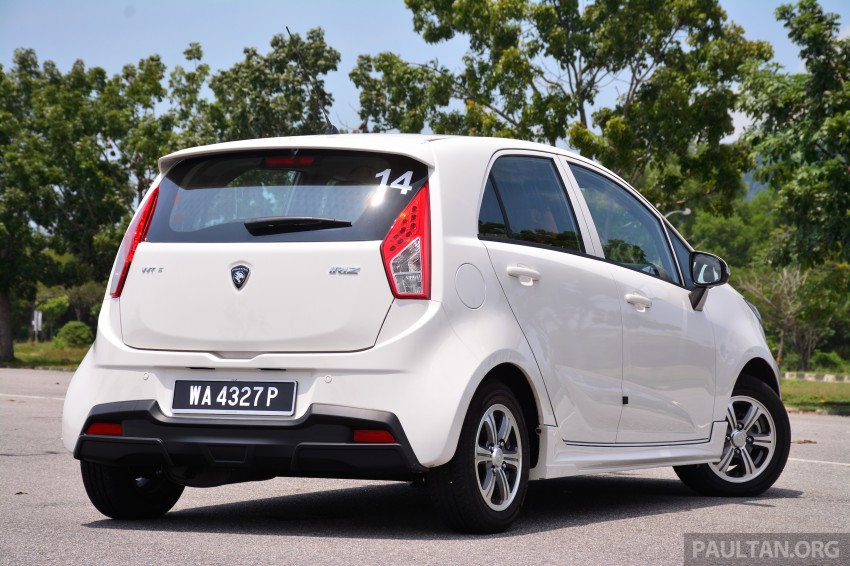 GALLERY: New Proton Iriz – spec-by-spec comparison Image #281332