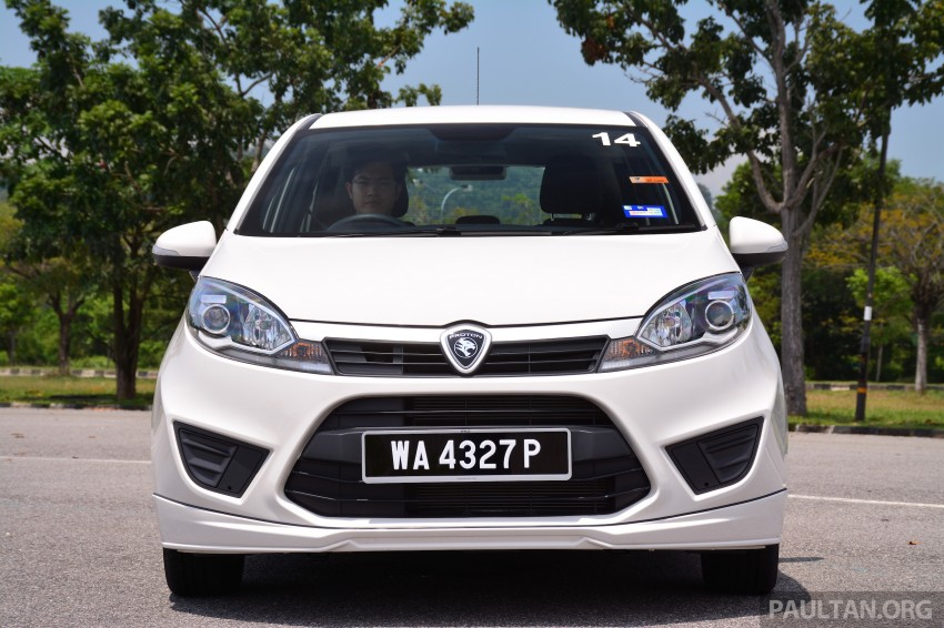 GALLERY: New Proton Iriz – spec-by-spec comparison Image #281333