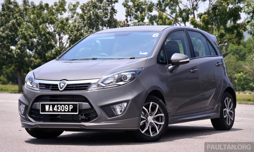GALLERY: New Proton Iriz – spec-by-spec comparison Image #281349