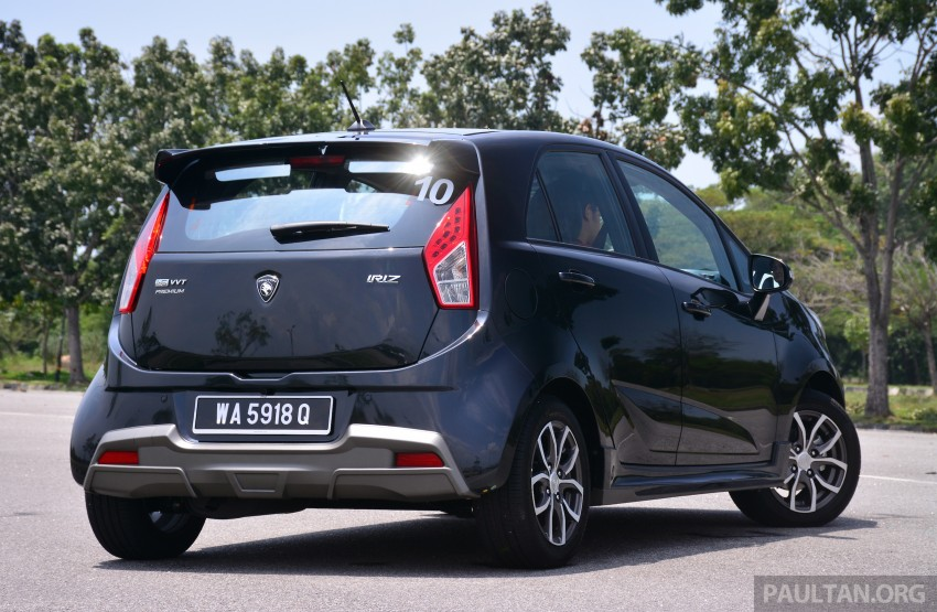 GALLERY: New Proton Iriz – spec-by-spec comparison Image #281369