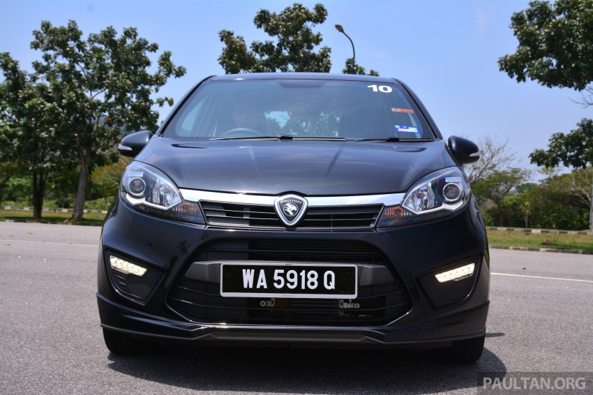 GALLERY: New Proton Iriz – spec-by-spec comparison Image #281370