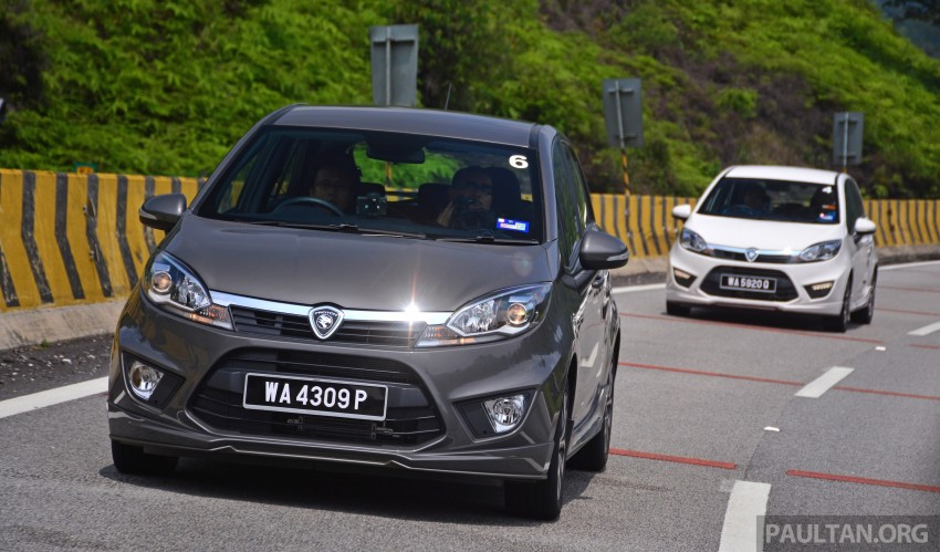 DRIVEN: Proton Iriz 1.3 MT and 1.6 CVT full review Image #281394
