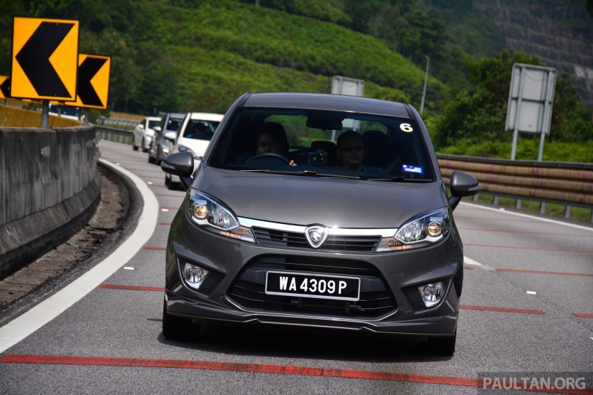 DRIVEN: Proton Iriz 1.3 MT and 1.6 CVT full review Image #281395