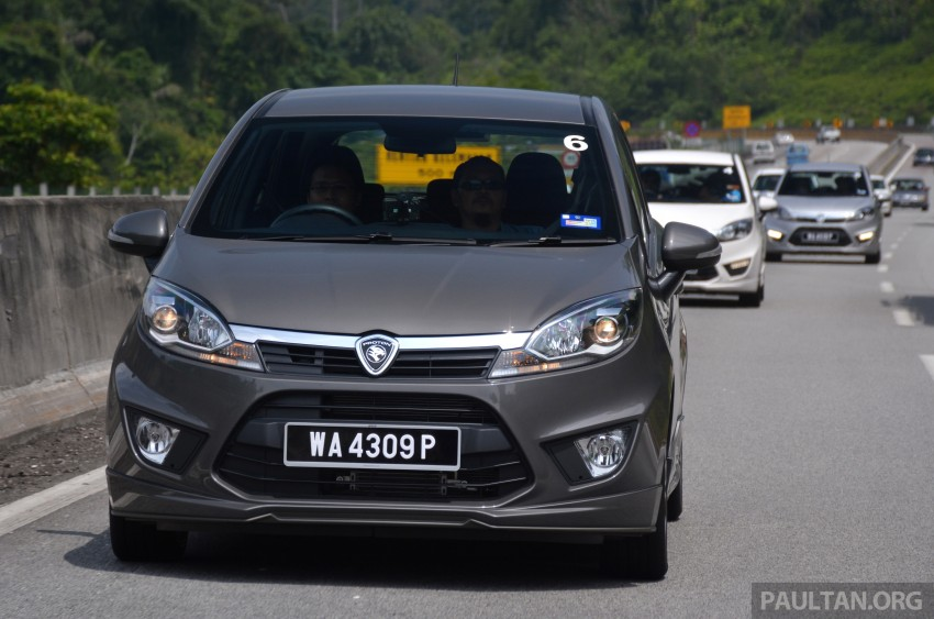 DRIVEN: Proton Iriz 1.3 MT and 1.6 CVT full review Image #281396