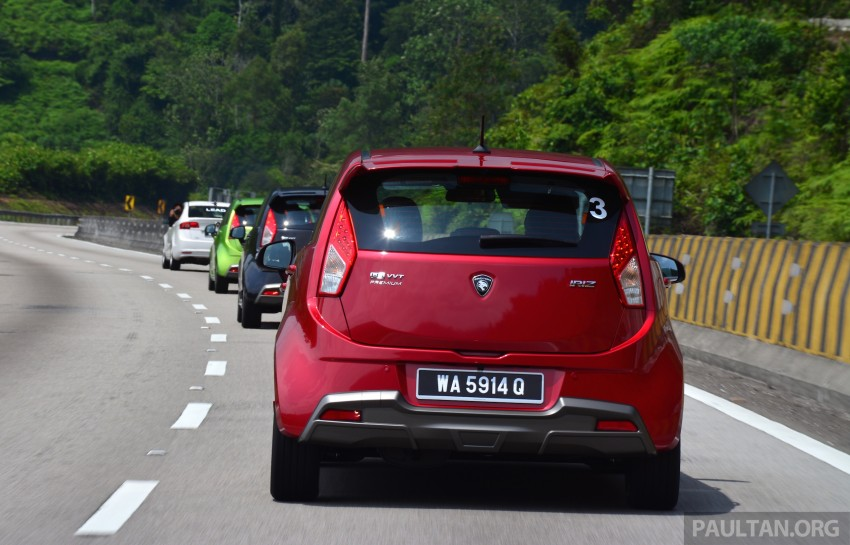 DRIVEN: Proton Iriz 1.3 MT and 1.6 CVT full review Image #281397