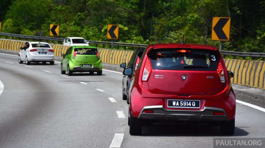 DRIVEN: Proton Iriz 1.3 MT and 1.6 CVT full review Image #281398