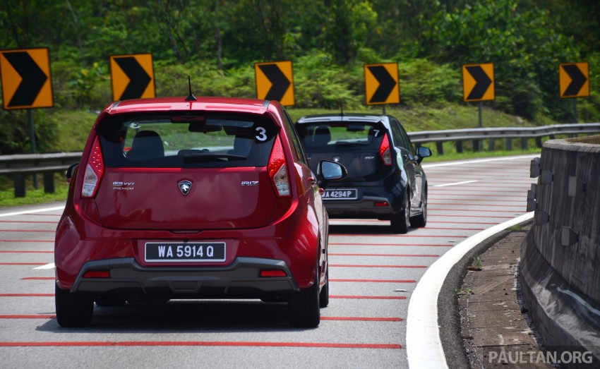 DRIVEN: Proton Iriz 1.3 MT and 1.6 CVT full review Image #281399
