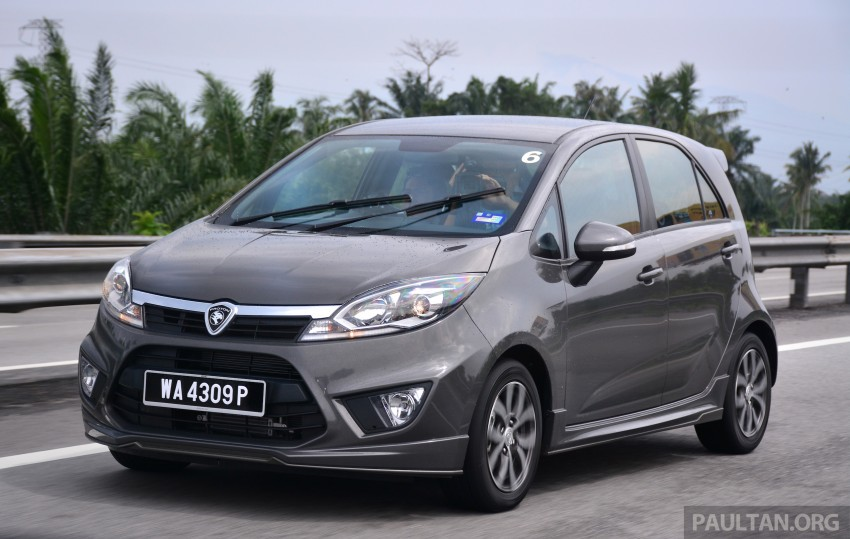 DRIVEN: Proton Iriz 1.3 MT and 1.6 CVT full review Image #281404