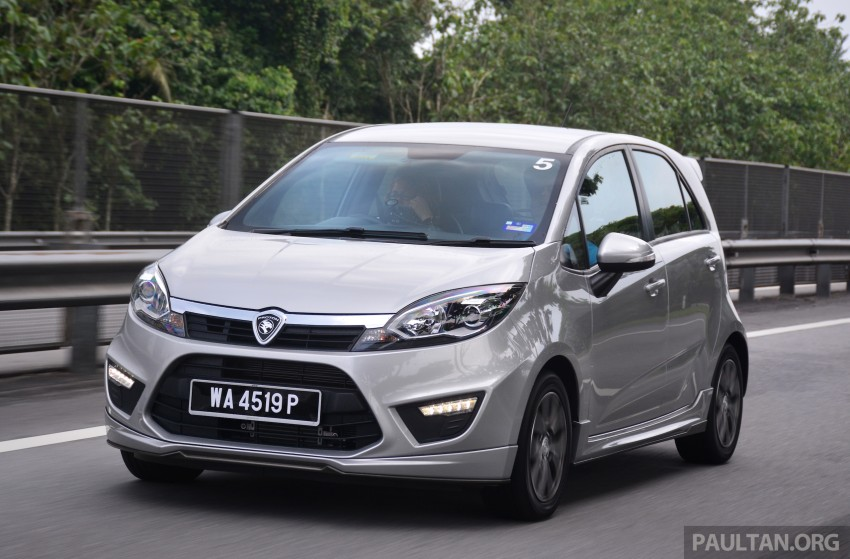 DRIVEN: Proton Iriz 1.3 MT and 1.6 CVT full review Image #281405
