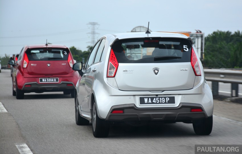 DRIVEN: Proton Iriz 1.3 MT and 1.6 CVT full review Image #281406