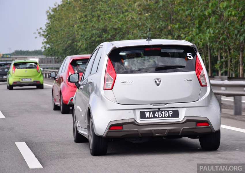 DRIVEN: Proton Iriz 1.3 MT and 1.6 CVT full review Image #281408