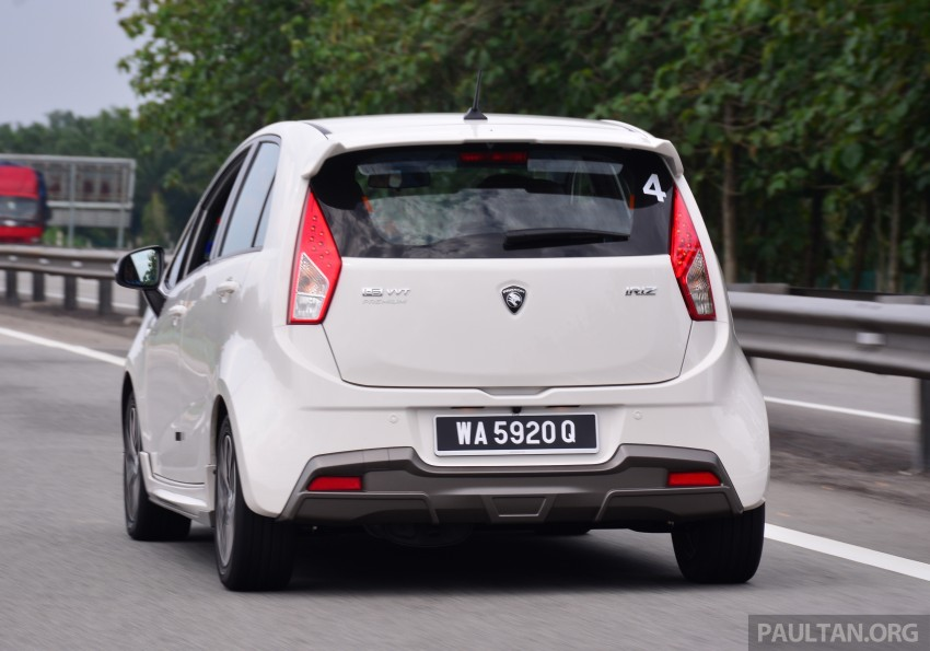 DRIVEN: Proton Iriz 1.3 MT and 1.6 CVT full review Image #281410