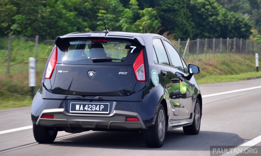 DRIVEN: Proton Iriz 1.3 MT and 1.6 CVT full review Image #281411