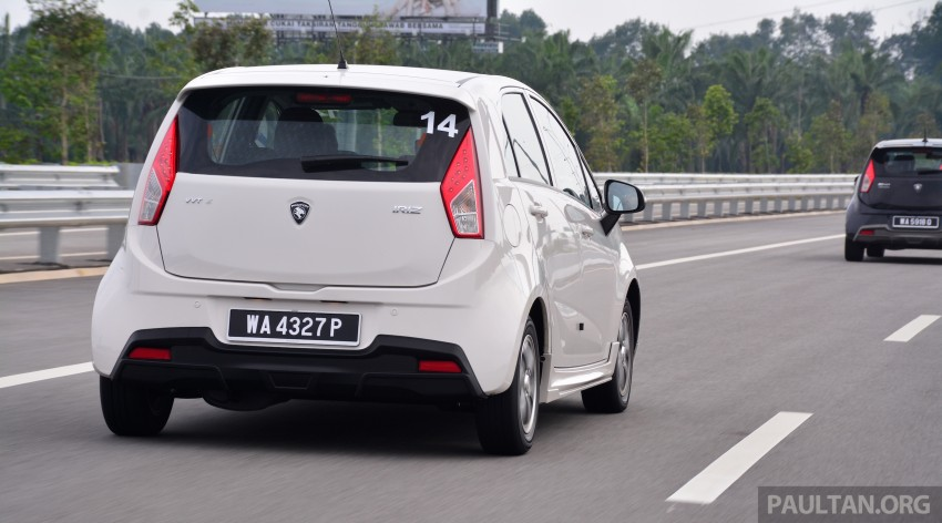 DRIVEN: Proton Iriz 1.3 MT and 1.6 CVT full review Image #281413