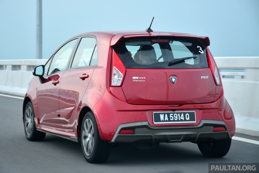 DRIVEN: Proton Iriz 1.3 MT and 1.6 CVT full review Image #281415
