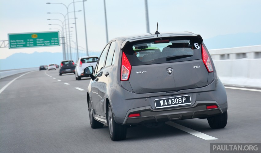 DRIVEN: Proton Iriz 1.3 MT and 1.6 CVT full review Image #281421
