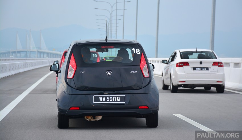 DRIVEN: Proton Iriz 1.3 MT and 1.6 CVT full review Image #281425