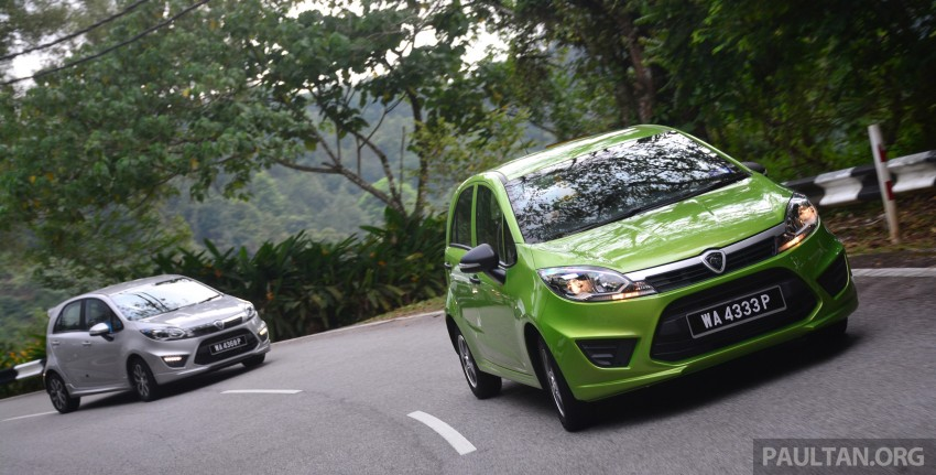 DRIVEN: Proton Iriz 1.3 MT and 1.6 CVT full review Image #281426