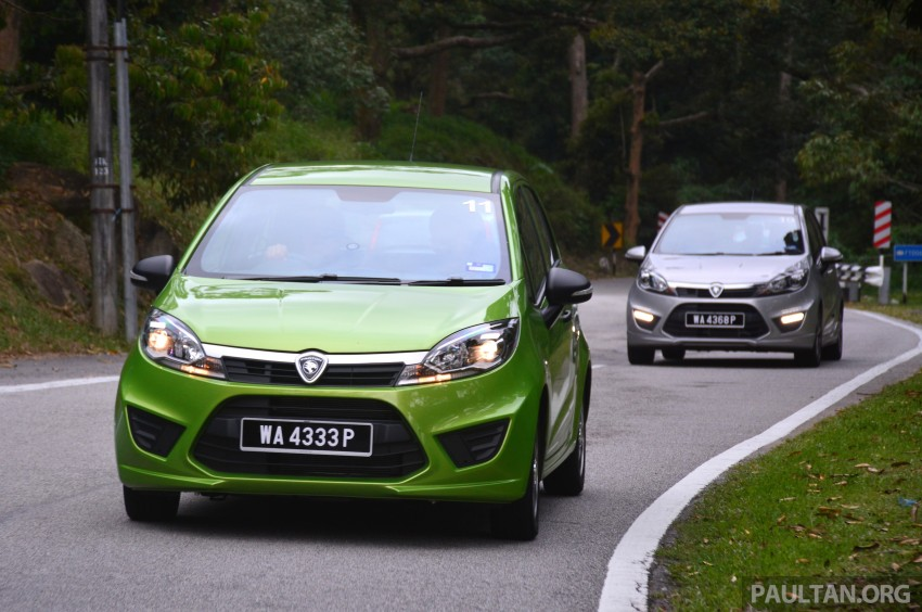 DRIVEN: Proton Iriz 1.3 MT and 1.6 CVT full review Image #281428