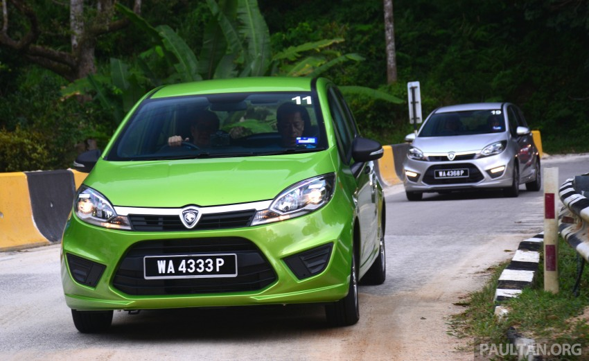 DRIVEN: Proton Iriz 1.3 MT and 1.6 CVT full review Image #281430