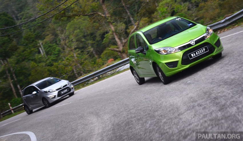 DRIVEN: Proton Iriz 1.3 MT and 1.6 CVT full review Image #281431