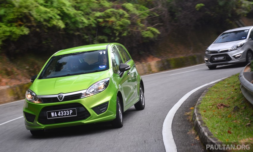 DRIVEN: Proton Iriz 1.3 MT and 1.6 CVT full review Image #281432