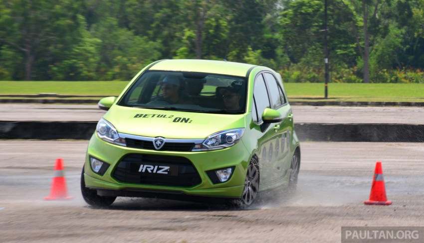DRIVEN: Proton Iriz 1.3 MT and 1.6 CVT full review Image #281529