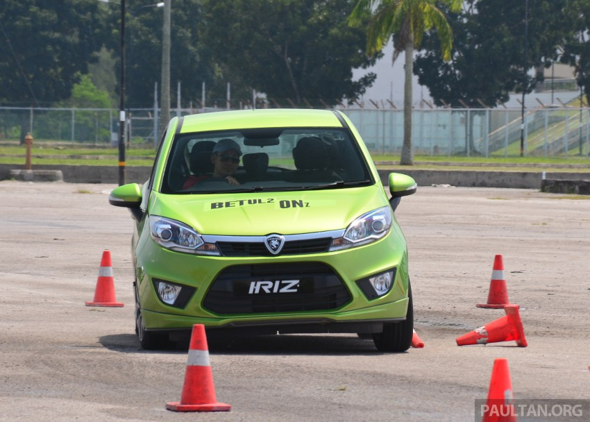 DRIVEN: Proton Iriz 1.3 MT and 1.6 CVT full review Image #281530