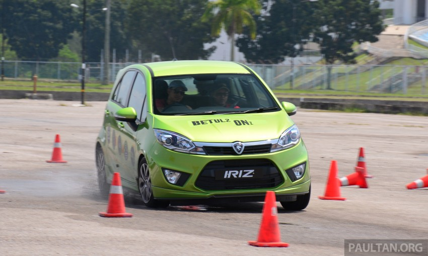 DRIVEN: Proton Iriz 1.3 MT and 1.6 CVT full review Image #281531