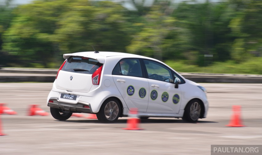 DRIVEN: Proton Iriz 1.3 MT and 1.6 CVT full review Image ...