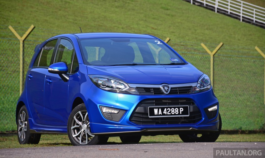 DRIVEN: Proton Iriz 1.3 MT and 1.6 CVT full review Image #281443