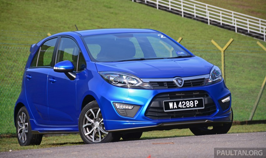 DRIVEN: Proton Iriz 1.3 MT and 1.6 CVT full review Image #291567