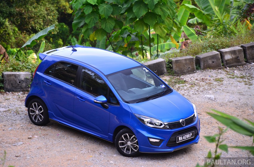 DRIVEN: Proton Iriz 1.3 MT and 1.6 CVT full review Image #281445