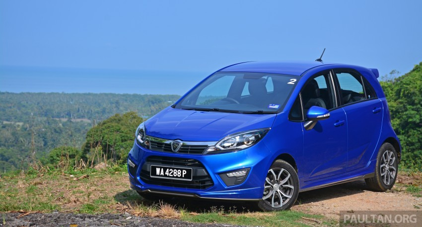 DRIVEN: Proton Iriz 1.3 MT and 1.6 CVT full review Image #281446
