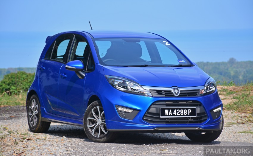 DRIVEN: Proton Iriz 1.3 MT and 1.6 CVT full review Image #281448
