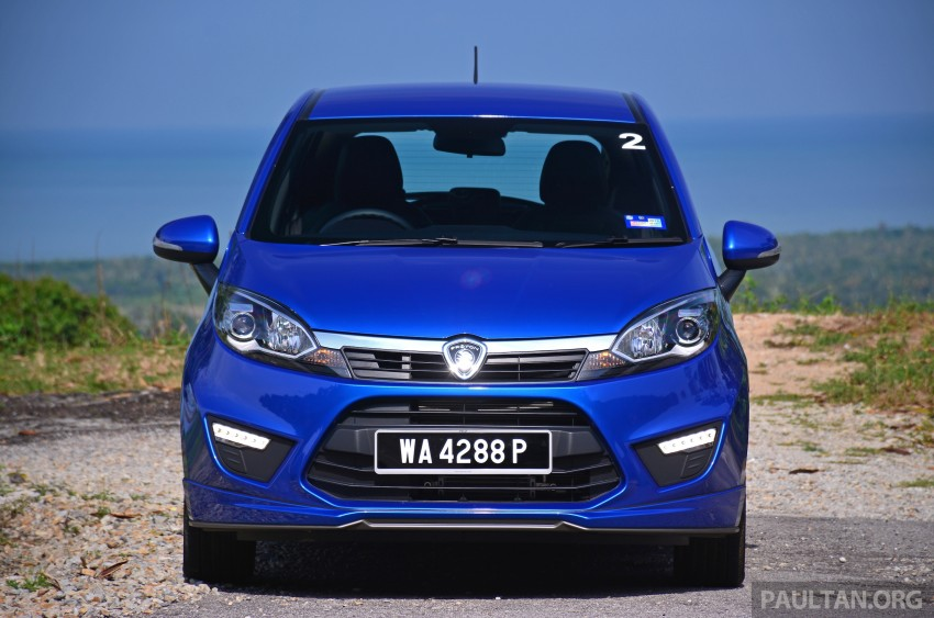 DRIVEN: Proton Iriz 1.3 MT and 1.6 CVT full review Image #281452