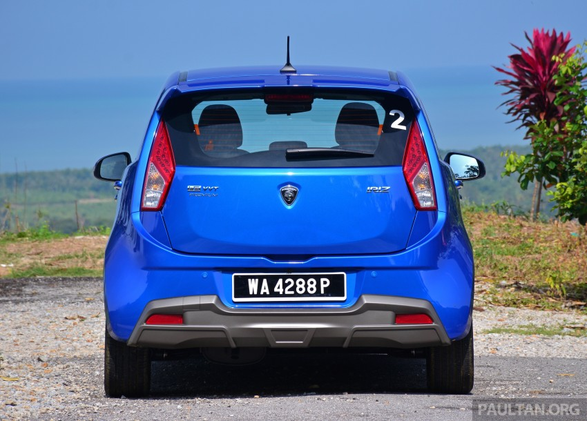 DRIVEN: Proton Iriz 1.3 MT and 1.6 CVT full review Image #281453