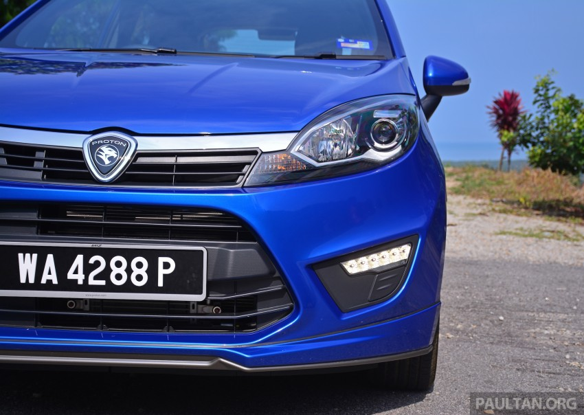 DRIVEN: Proton Iriz 1.3 MT and 1.6 CVT full review Image #281458