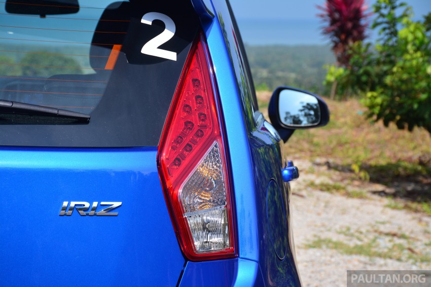 DRIVEN: Proton Iriz 1.3 MT and 1.6 CVT full review Image #281471