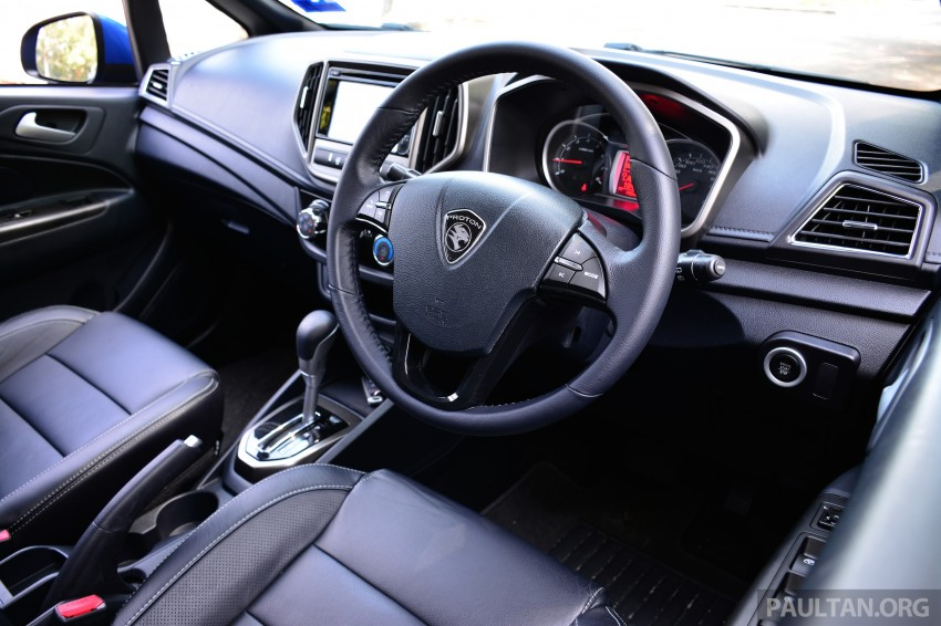 DRIVEN: Proton Iriz 1.3 MT and 1.6 CVT full review Image #281483