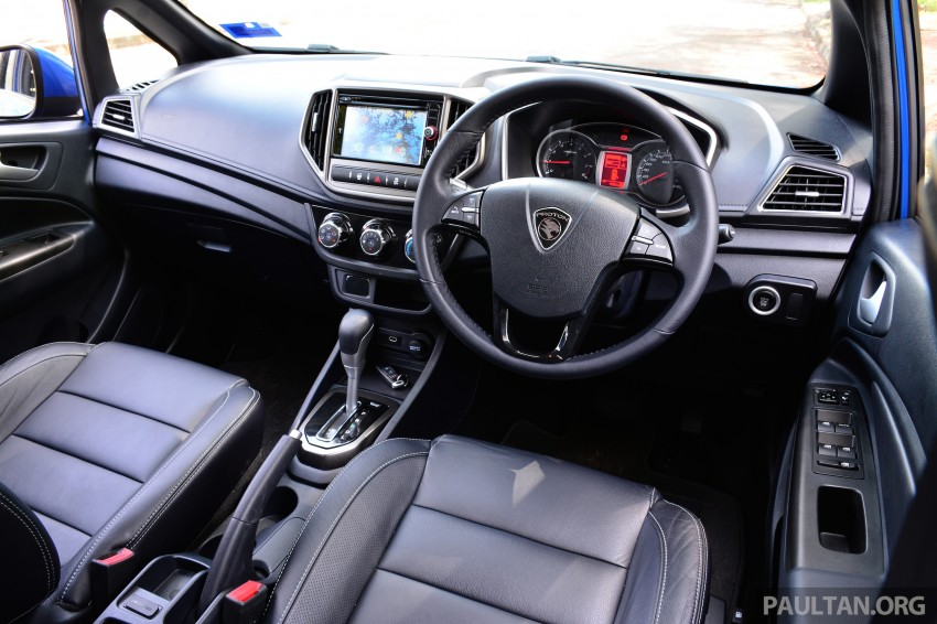 DRIVEN: Proton Iriz 1.3 MT and 1.6 CVT full review Image #281484