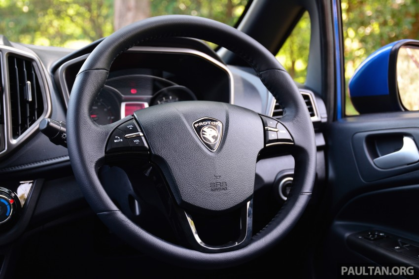 DRIVEN: Proton Iriz 1.3 MT and 1.6 CVT full review Image #281489