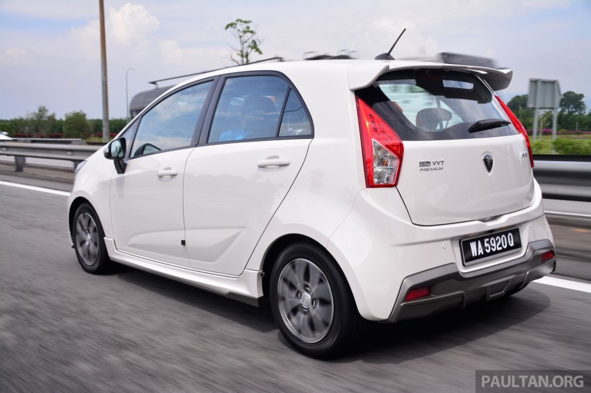 Proton Iriz instrument panel reveals future additions Image #280908
