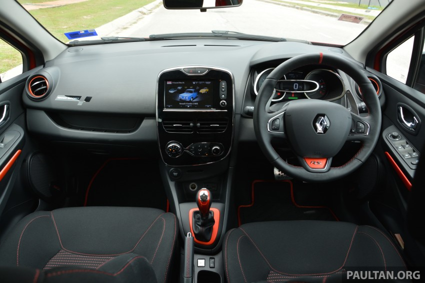 DRIVEN: Renault Clio RS 200 EDC – a softer focus Image #282807