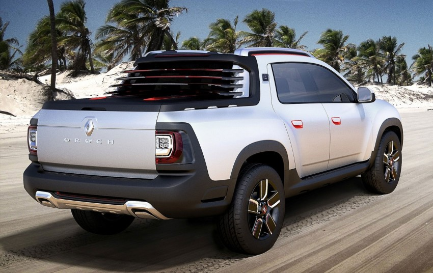 Renault Duster Oroch concept unveiled for Sao Paulo