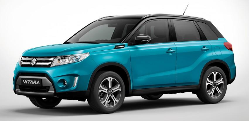 Suzuki Vitara – B-segment SUV fully unveiled in Paris Image #277706