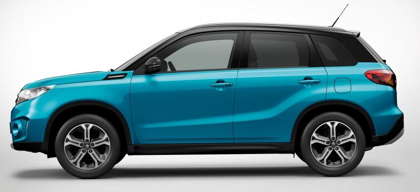 Suzuki Vitara – B-segment SUV fully unveiled in Paris Image #277704