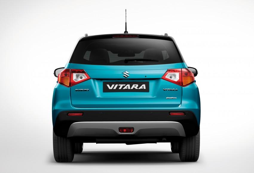 Suzuki Vitara – B-segment SUV fully unveiled in Paris Image #277702