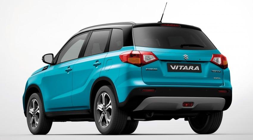Suzuki Vitara – B-segment SUV fully unveiled in Paris Image #277703